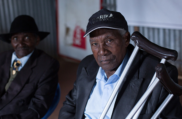 Karanja suffered ageism when using transport.
