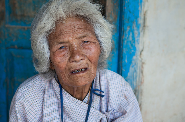 Chandramatic, 91, survived the Nepal Earthquake.