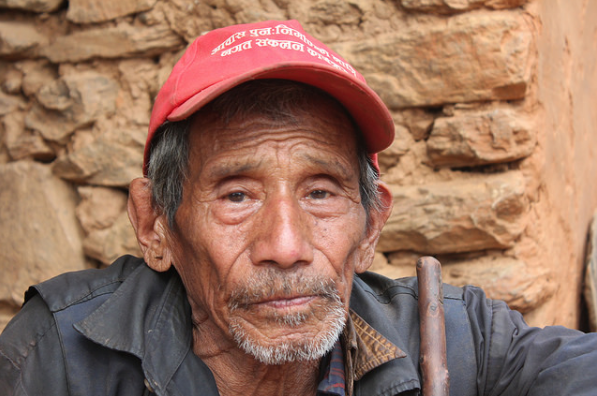 Dupha's house collapsed during the Nepal Earthquake.