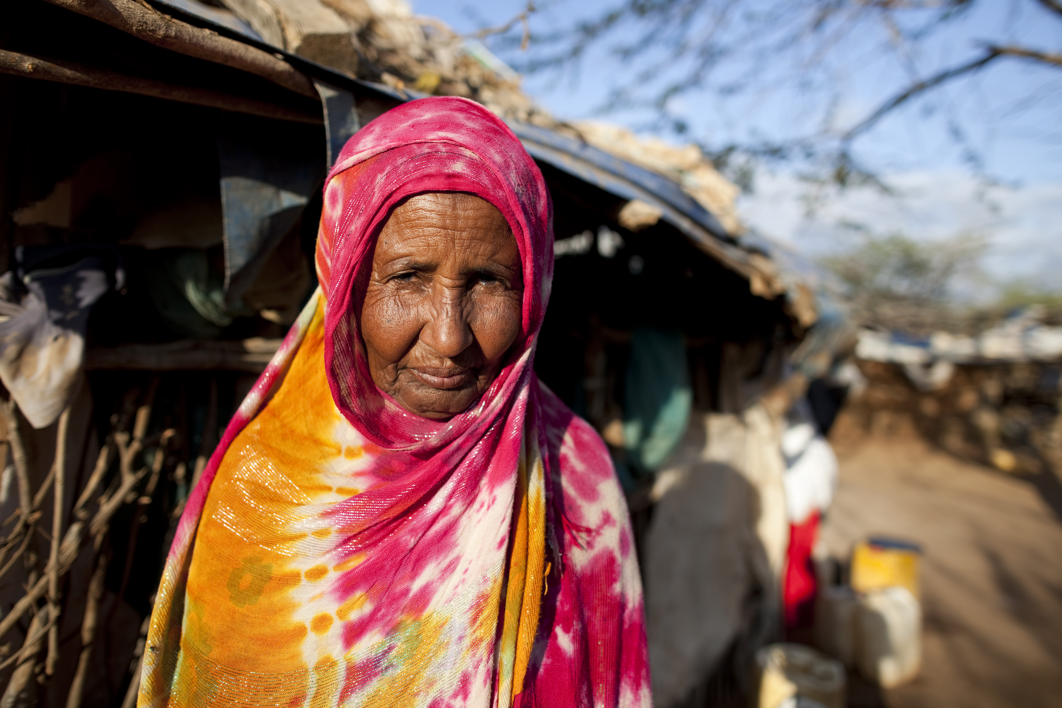 Habbiba Ali was forced to leave her home in Somalia due to violence.