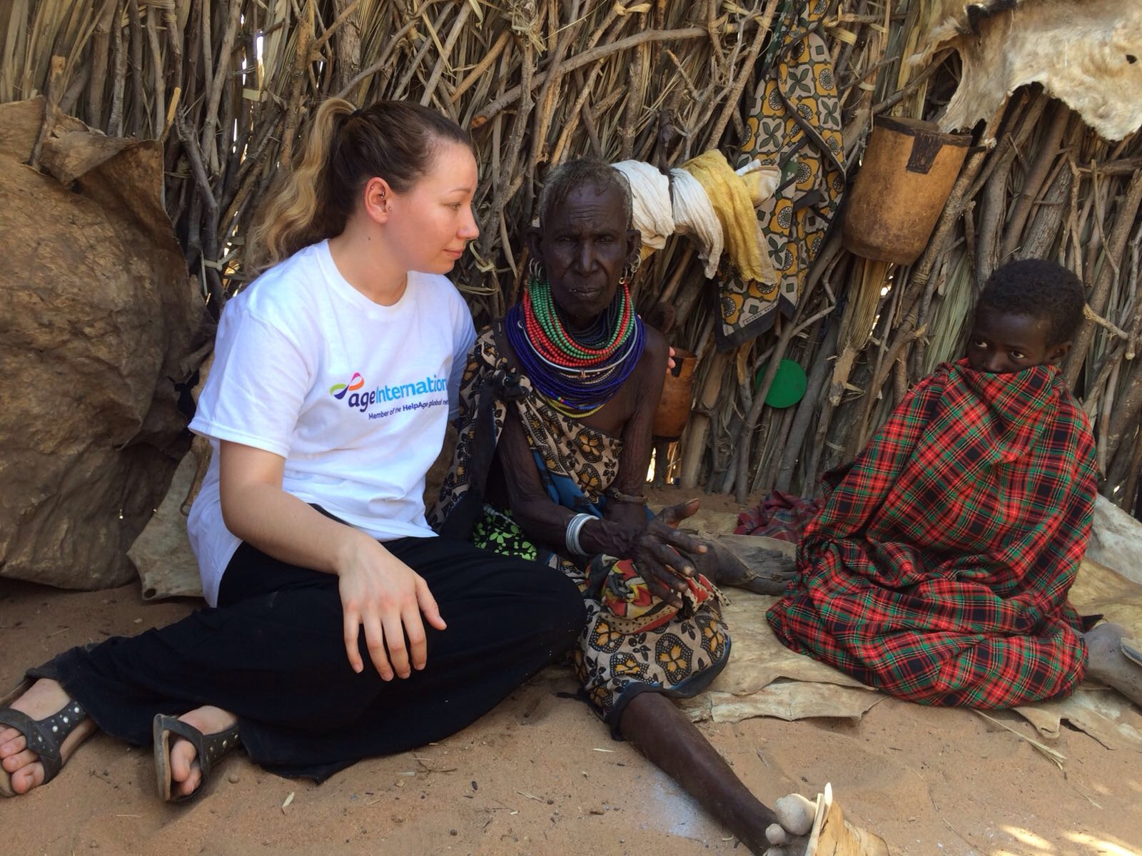 Age International meets older people in Kenya struggling through drought.