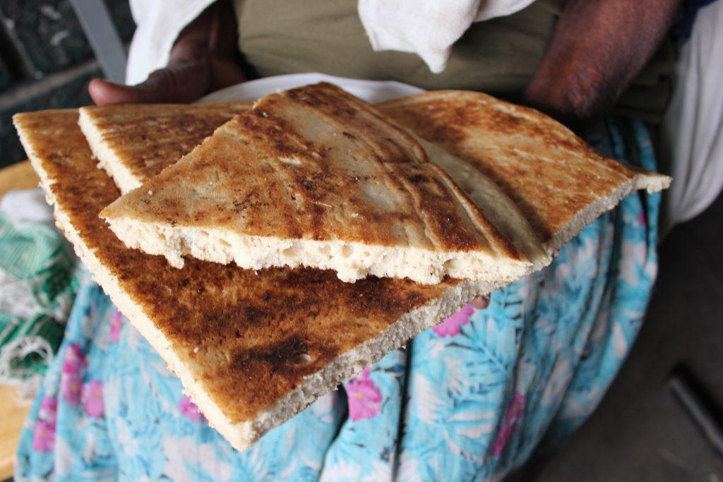 Ethiopian pancake