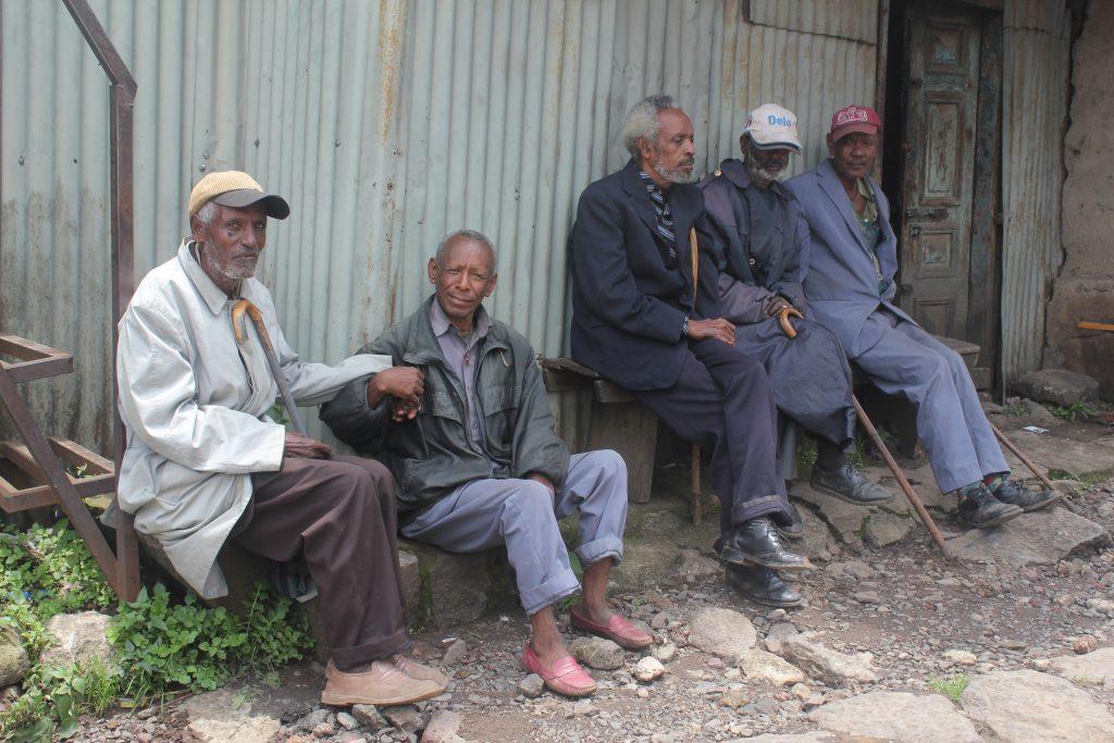 Older men Addis Ababa