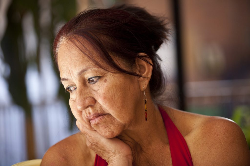 Cecilia was raped during conflict in Colombia.