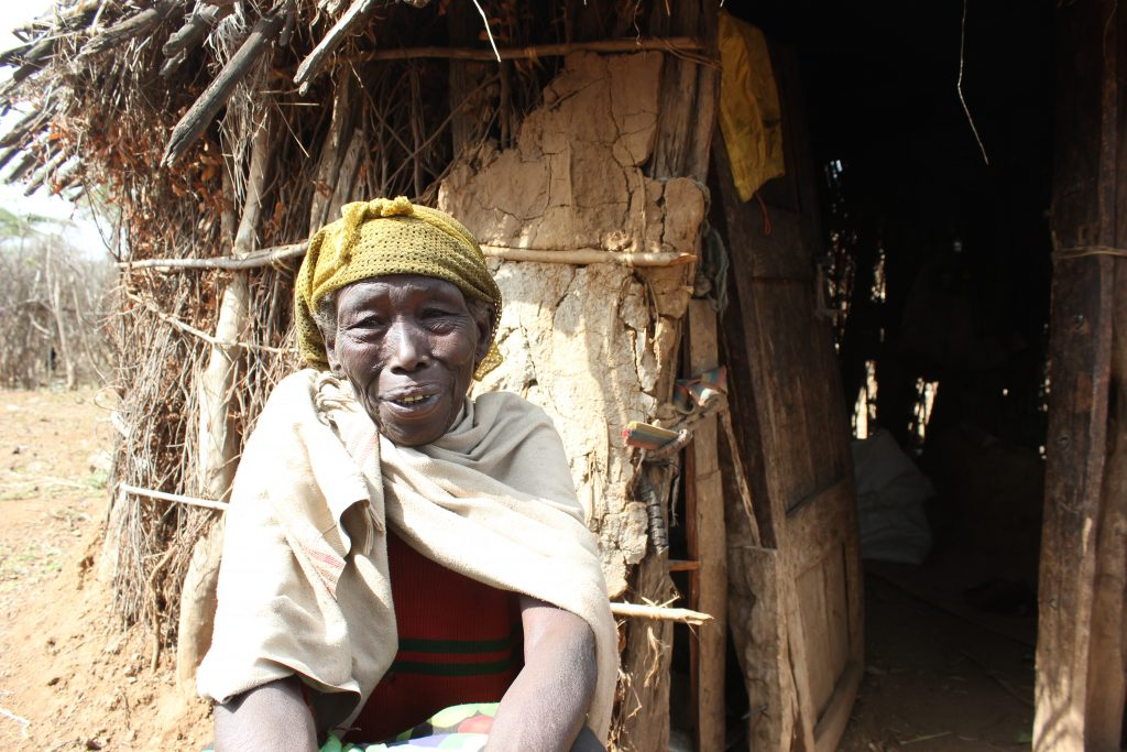 75 year old Bonsa in Ethiopia