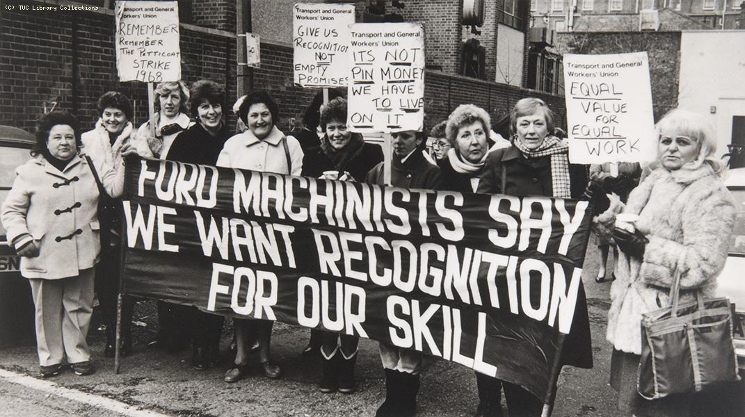 Dagenham Protest